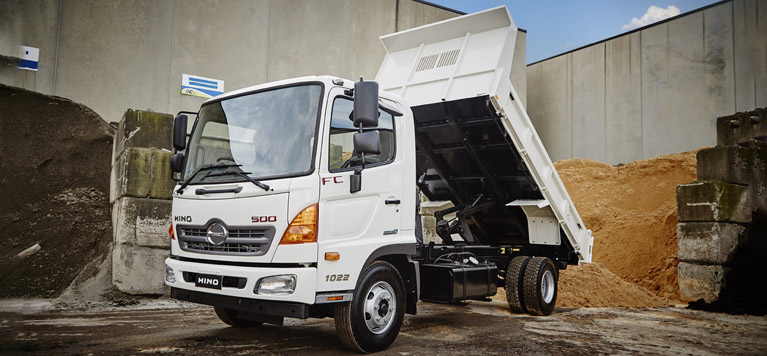 Hino built to go series.